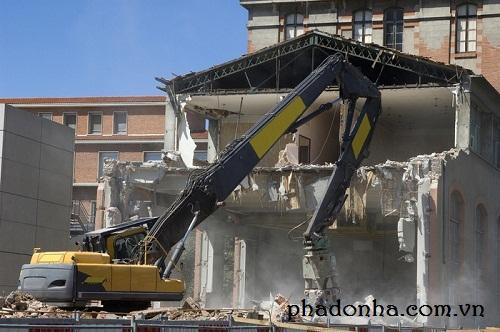 Các bước phá dỡ công trình nhanh chóng, an toàn và hiệu quả