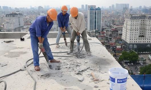 Biện pháp phá dỡ bê tông không gây tiếng ồn