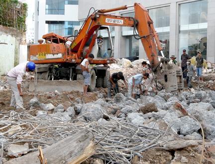 Phương án xử lý Phế thải xây dựng an toàn