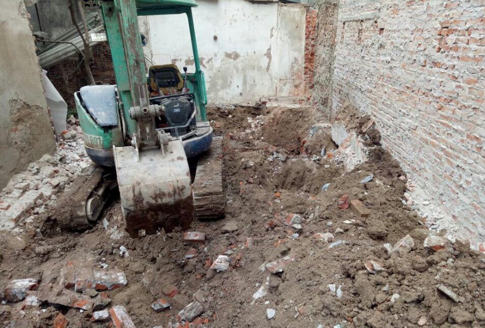 Hướng dẫn cách đào móng nhà 2 tầng chuẩn chỉnh nhất