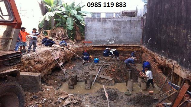 Những vấn đề xoay quanh đào móng nhà trên địa bàn Hà Nội