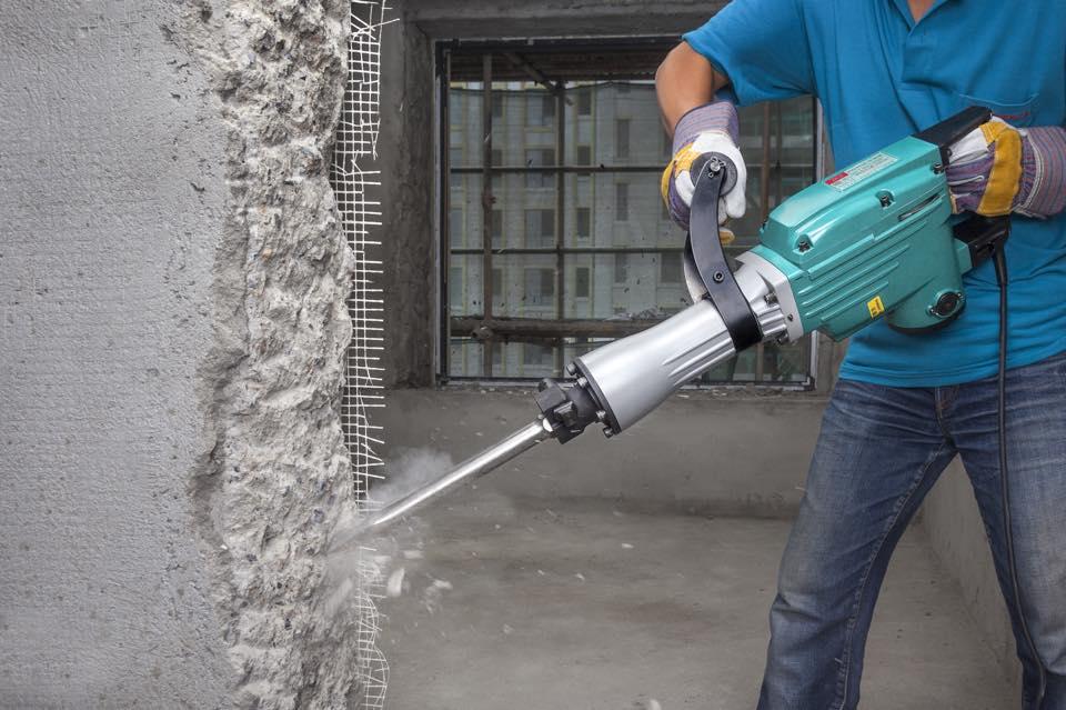 định mức phá dỡ bê tông bằng máy