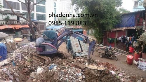 Vận chuyển rác thải xây dựng giá rẻ Hà Nội