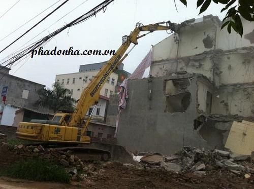 an toàn lao động trong phá dỡ công trình xây dựng