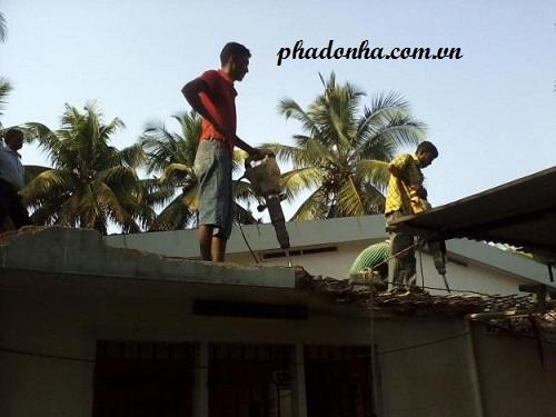 sửa mái nhà chống dột