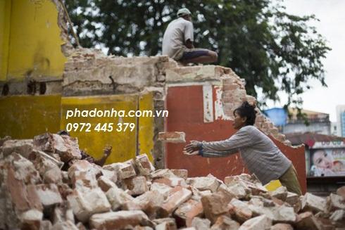 an toàn lao động trong phá dỡ công trình