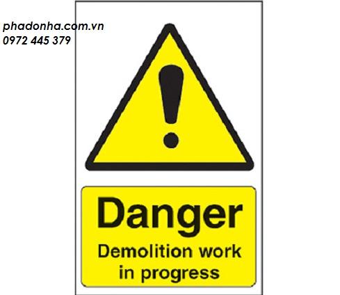 an toàn lao động trong phá dỡ công trình 1