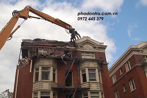 biện pháp phá dỡ công trình cũ phá dỡ nhà cao tầng