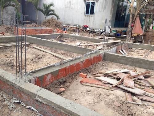 đào móng nhà cấp 4
