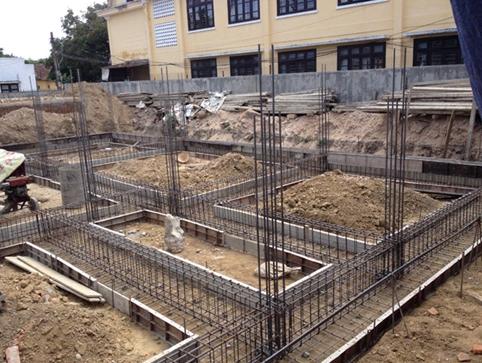 đào móng nhà nên đào sâu bao nhiêu
