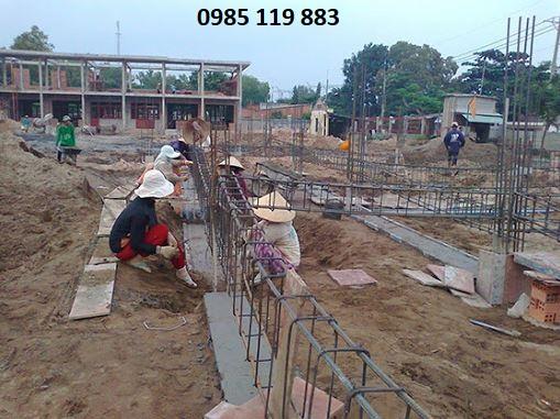 giá đào móng nhà
