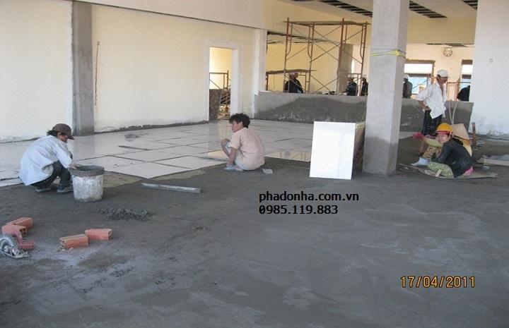 dịch vụ sửa nền nhà