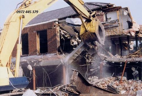 phá dỡ công trình tại quận hai bà trưng hà nội