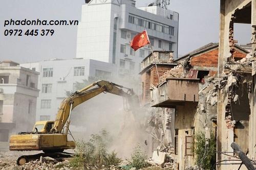 phá dỡ công trình tại quận hoàn kiếm hà nội