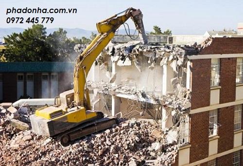 phá dỡ công trình tại quận hoàn kiếm hà nội 1