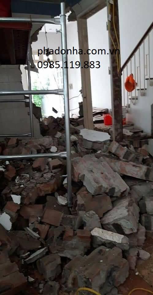 phá dỡ nhà hà nội