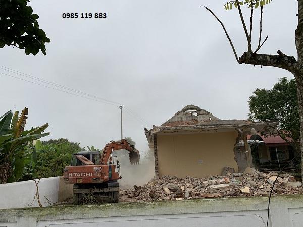 Giá phá dỡ nhà