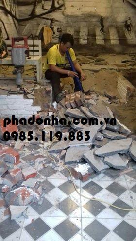 phá dỡ nhà tại tạ quang bửu