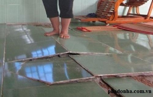sửa chữa nền nhà