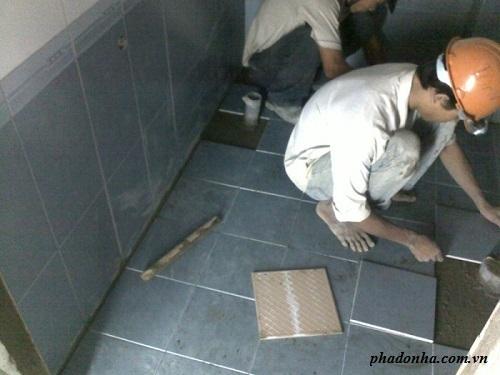 sửa chữa cải tạo nhà tắm