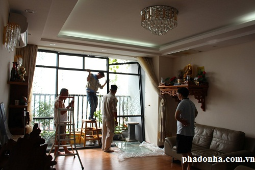 sửa nhà trước khi đem bán