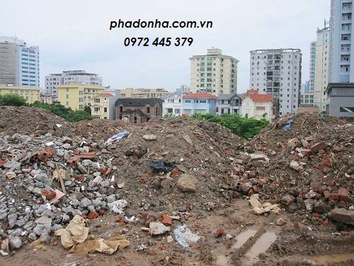 Vận chuyển đất thải