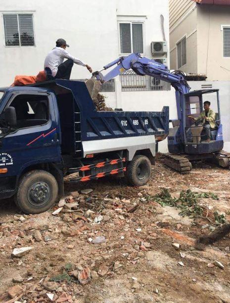 vận chuyển phế thải xây dựng