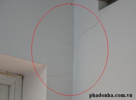 Mẹo hay xử lý nhanh chóng khi tường nhà bị nứt