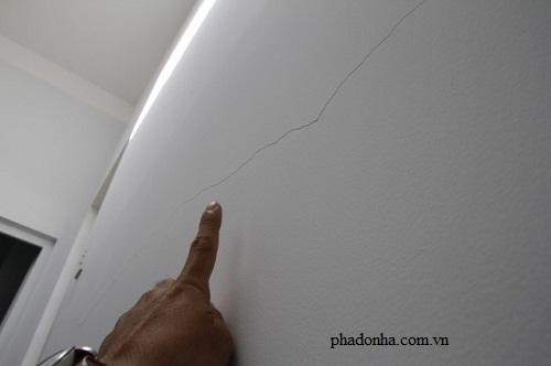 Nguyên nhân và cách khắc phục tường nhà bị nứt