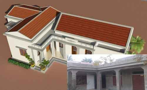 Hướng dẫn cách sửa chữa nhà cấp 4 thành nhà mái bằng