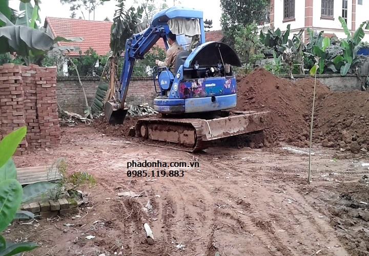 Kinh nghiệm đào móng nhà cấp 4 trên nền đất yếu