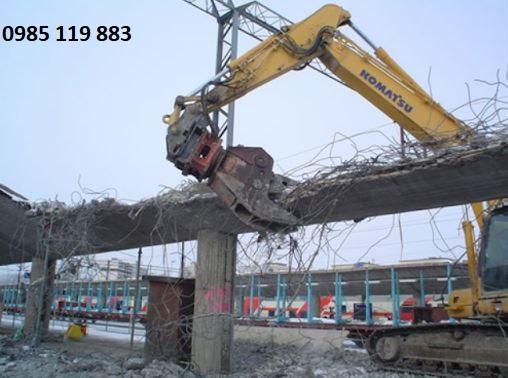 Chú trọng an toàn trong phá dỡ công trình
