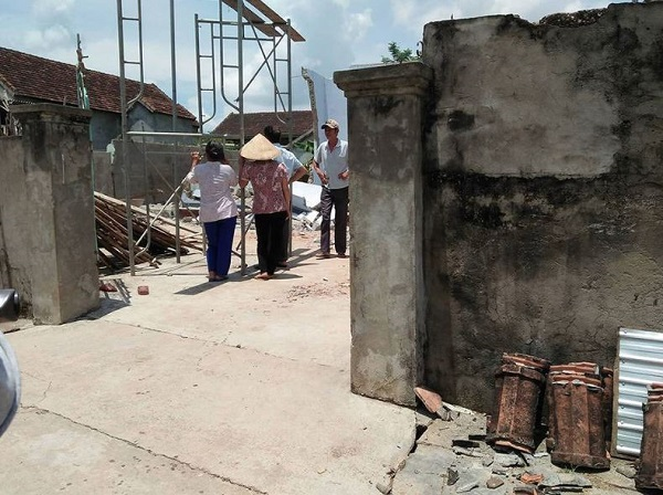 Quy trình phá dỡ nhà của Hoan Hoa tại Hà Nội