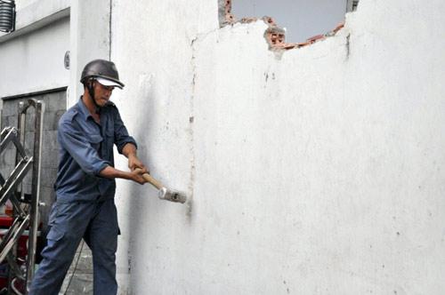 Dịch vụ Đục phá tường tại Hà Nội