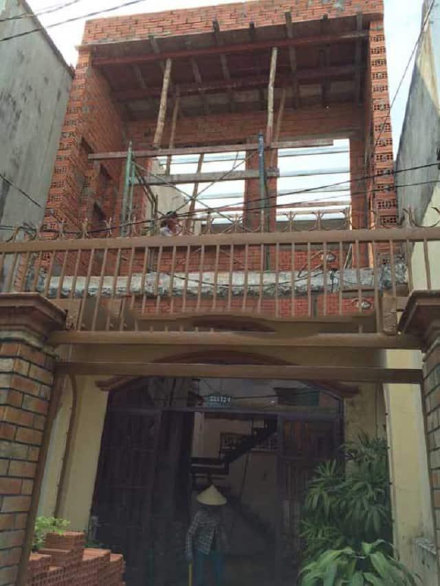 Sửa nhà cấp 4 thành nhà 2 tầng